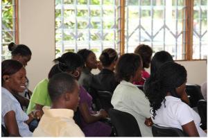 Etudiants lors des dernières kongossa web series