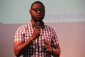 Steve Amara, lors des Kongossa Web Series